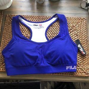 NWT FILA Sport Running Sports Bra, L